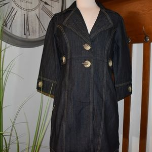 Baccinni denim coat